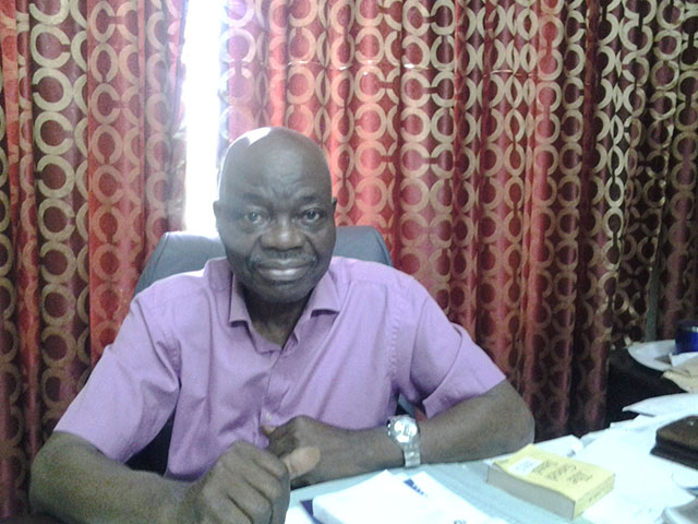 Dr. Emmanuel Olumakinde (Director of Medical Section)