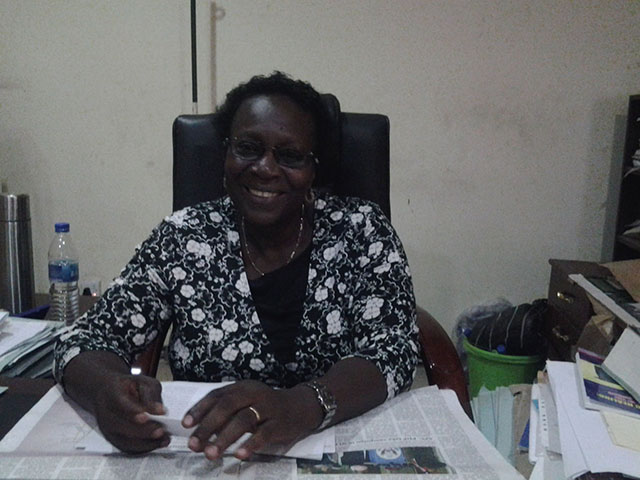 Dr. Titi Eniola (Director of Social Workers)